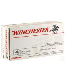 WINCHESTER 44 MAG 240gr SEMI-BLINDEE