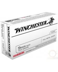 WINCHESTER 9mm LUGER 124gr FMJ