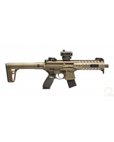 CARABINE MPX CO2 CAL.4.5mm + point rouge SIG 20R