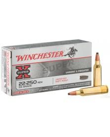 WINCHESTER 22-250 Rem 55gr SP