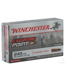WINCHESTER 243 Win 95gr EXTREME POINT