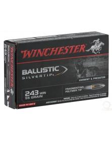 WINCHESTER 243 Win ballistic silvertip
