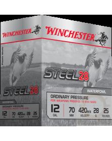 STEEL 28 CAL. 12/70 28G (billes d'acier) - PACK DE 250 CARTOUCHES