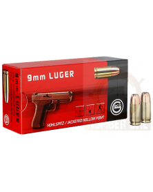 GECO 9mm LUGER 115gr HP