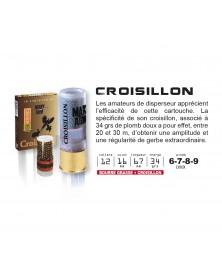 CROISILLON CAL.12/67 BG - 34grs