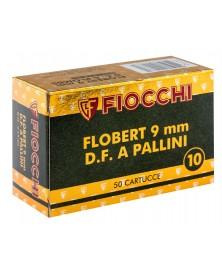 FIOCCHI 9 mm A GRENAILLE DE PLOMB N°7.5