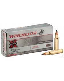 WINCHESTER 222 Rem 50gr SP