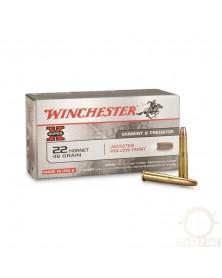 WINCHESTER 22 HORNET 46gr HP