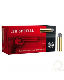 GECO 38 SPECIAL 158gr RN PLOMB