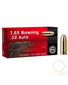GECO 7.65 BROWNING (32ACP) 73gr FMJ