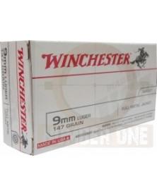 WINCHESTER 9mm LUGER 147gr FMJ
