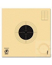 CIBLES CARABINE 10 M ISSF NUMEROTEES