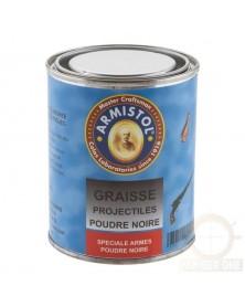 GRAISSE POUR PROJECTILES POUDRE NOIRE - BOITE DE 250 ML